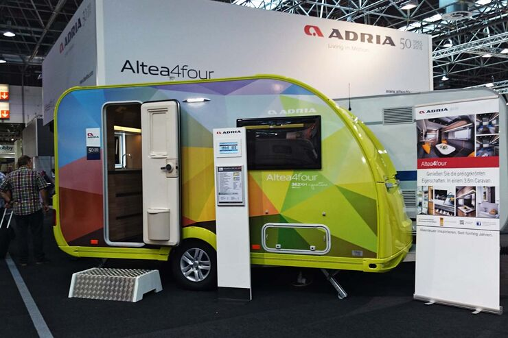 Adria Altea 4Four Caravan Salon 2014