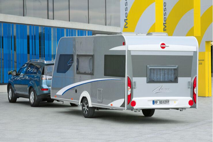 Bürstner Averso Test Caravaning Caravan