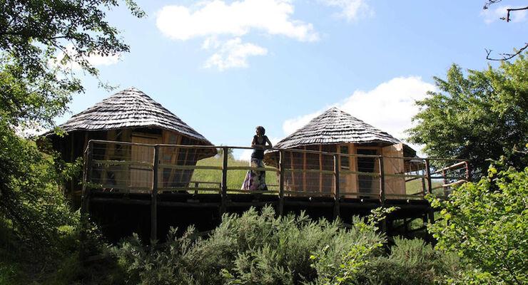 """Campen ist in Vendée an der französischen Atlantikküste sehr beliebt. Betreiber locken Gäste mit kreativem Campen im neuen """"Bubble Room"""" von dem man den Sternenhimmel beobachten kann."""