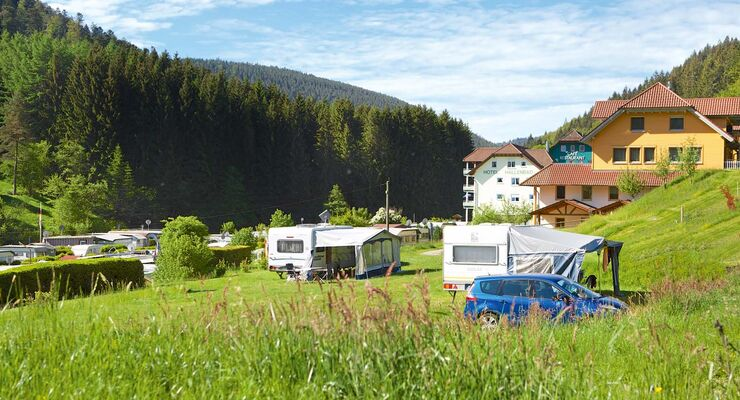 Camping Kleinenzhof in Bad Wildbad