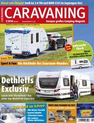 Caravaning Cover Januar 16