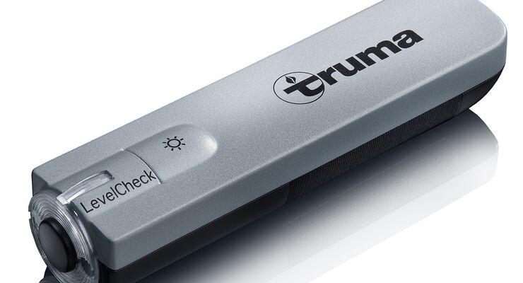 Der mobile Level-Check von Truma erkennt den Füllstand in der Gasflasche und zeigt dies mittels LED-Anzeige an.