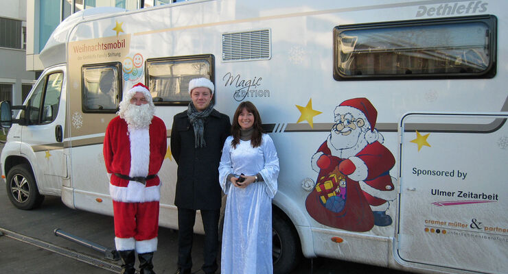 Dethleffs Magic Edition - Spedenaktion zu Weihnachten