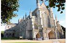 Die Kathedrale in Winchester hat eines der längsten Kirchenschiffe Europas.