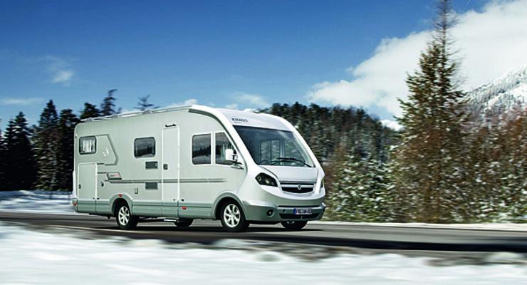Eisplatten Lastwagen Lkw Caravan Wohnanhänger Wohnmobil Reisemobil
