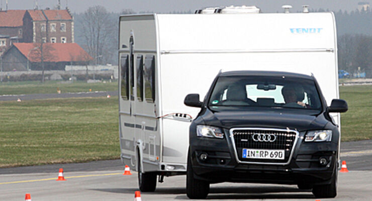 Fahrsicherheit, training, Reisemobil, wohnmobil, caravan, wohnwagen