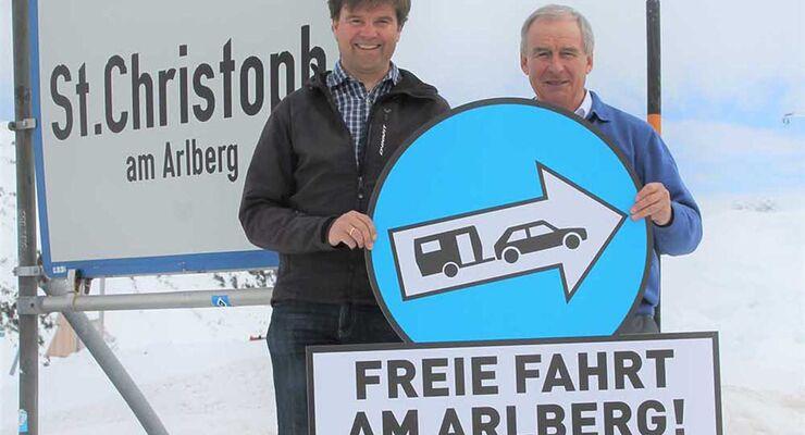 Freie Fahrt Arlberg