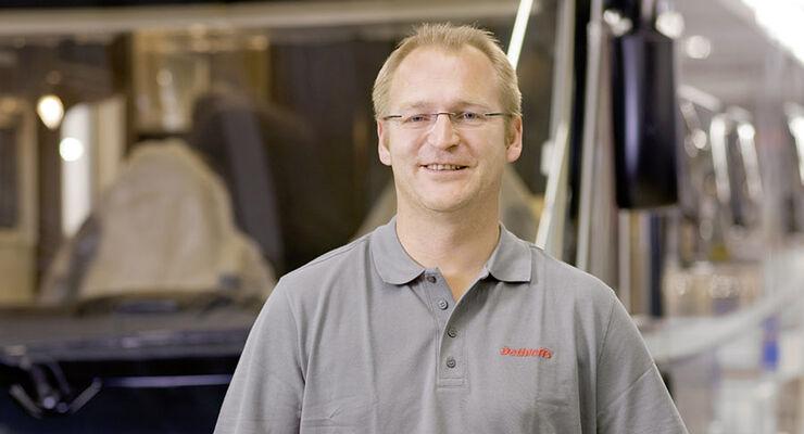 Herr Günther Wank (43) wurde zu Beginn dieses Jahres in die Geschäftsführung von Dethleffs in Isny berufen.