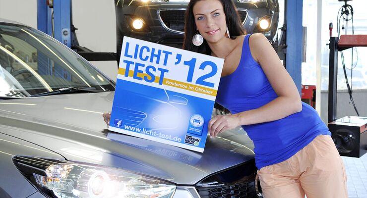 Im Oktober starten die Zentralverbände des Deutschen Kfz-Gewerbes und der Augenoptiker den Licht-Test-Aktionsmonat.