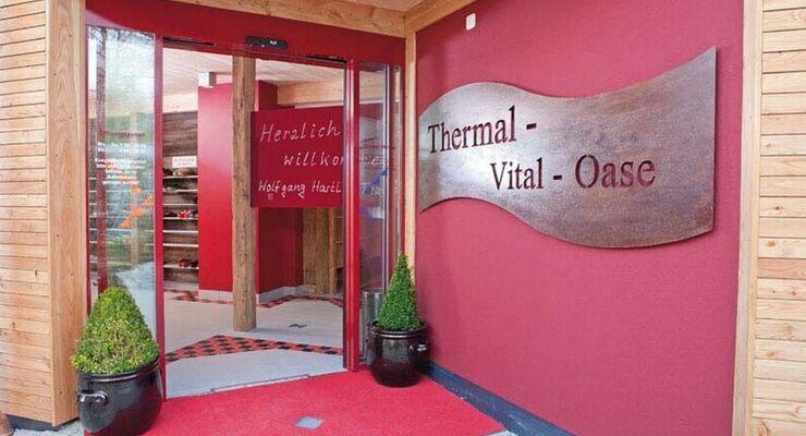 In Hartl's Kur- und Feriencamping Dreiquellenbad wurde die Thermal-Vital-Oase mit neuen Räumlichkeiten aufgefrischt