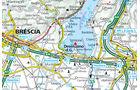 Karte Region Desenzano am Gardasee