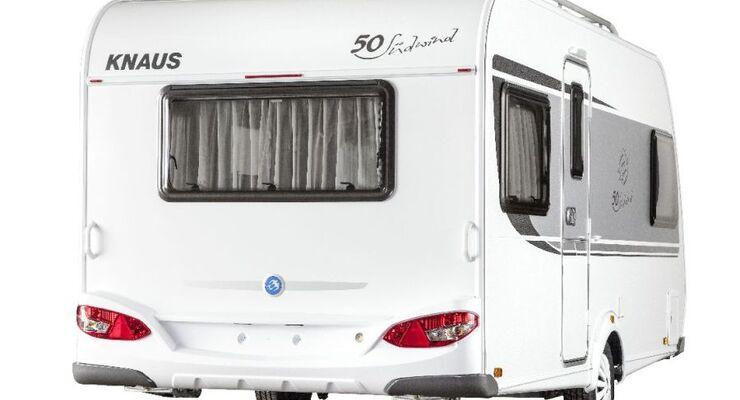 Knaus Südwind wird 50 - drei neue Sondermodelle zum Jubiläum mit einem Preisvorteil bis zu 3.929 Euro