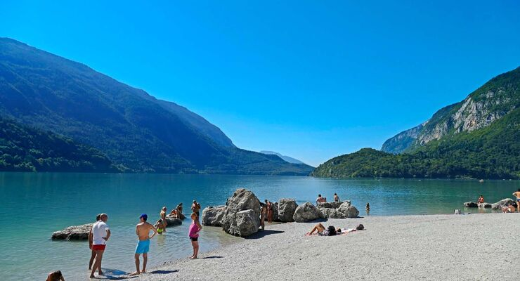 Lago di Molveno.