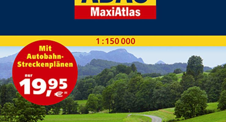 Maxi Atlas Deutschland 2010/2011 Adaa wohnmobil reisemobil caravan wohnwagen