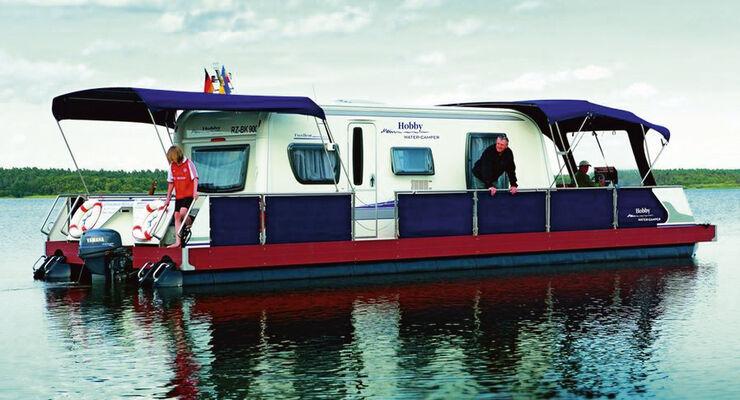 Neben geführten Reisemobil- und Caravan-Touren gehören in der Saison 2012 auch Camping-Events zum Gesamtprogramm der Hobby Erlebnisreisen