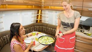 Ratgeber: Kochen im Caravan