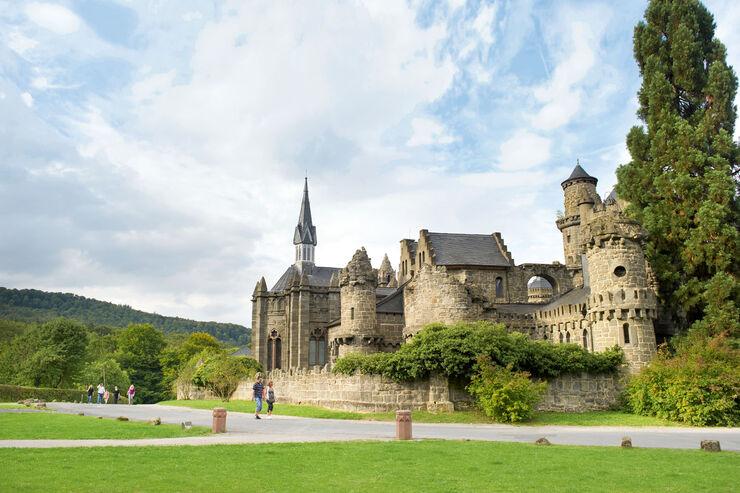 Reise-Journal: Burgromantik im Bergpark