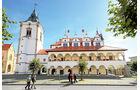 Renaissance-Rathaus in Levoc?a.