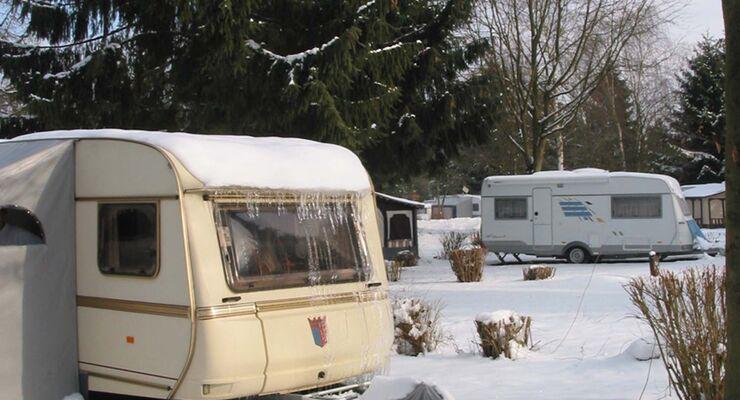 Südsee Camp Wintercamping