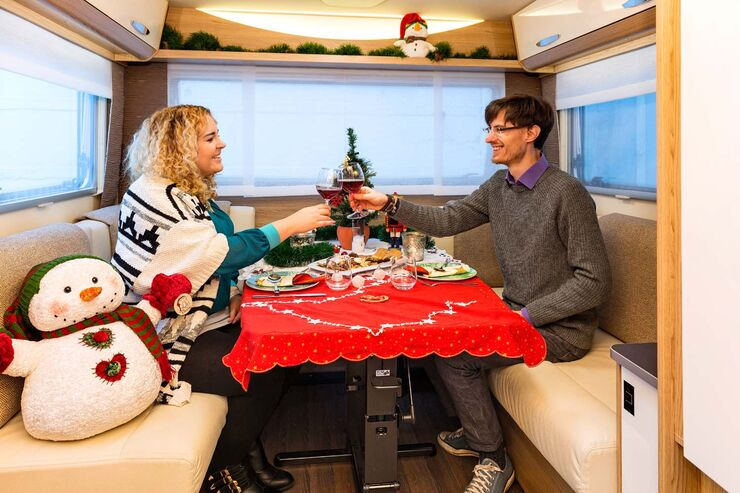 Weihnachten im Mobil
