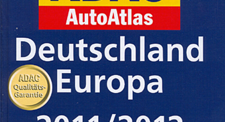 neuer autoatlas deutschland europa 2011 2012 caravaning. Black Bedroom Furniture Sets. Home Design Ideas
