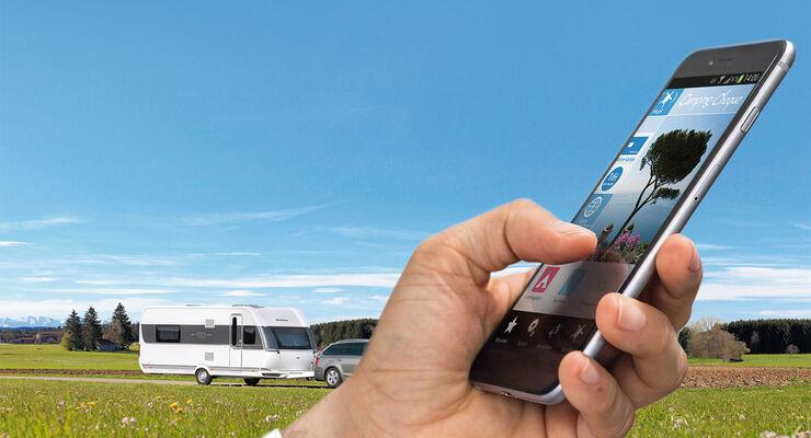 Maps Entfernungsmesser Iphone : Smartphone apps für camper von caravaning getestet