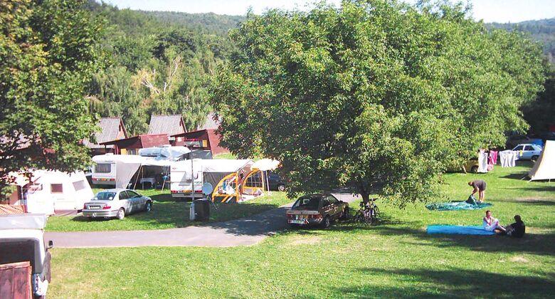 Autocamp Šternberk in Tschechien