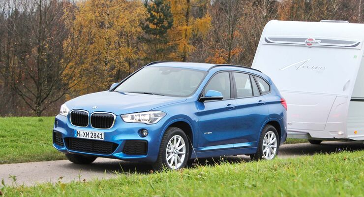 bmw x1 25d xdive im zugwagen test stark und fahrsicher. Black Bedroom Furniture Sets. Home Design Ideas