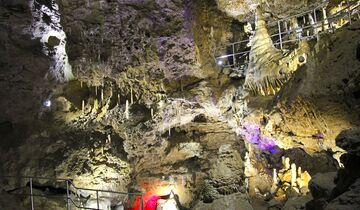 Begehbare Höhlen Teufelshöhle