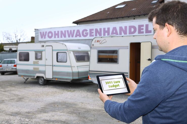 billige gebrauchte wohnwagen bis euro caravaning. Black Bedroom Furniture Sets. Home Design Ideas