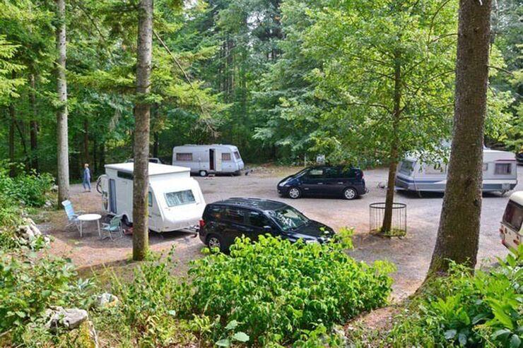 Camping Pivka Jama in Slowenien