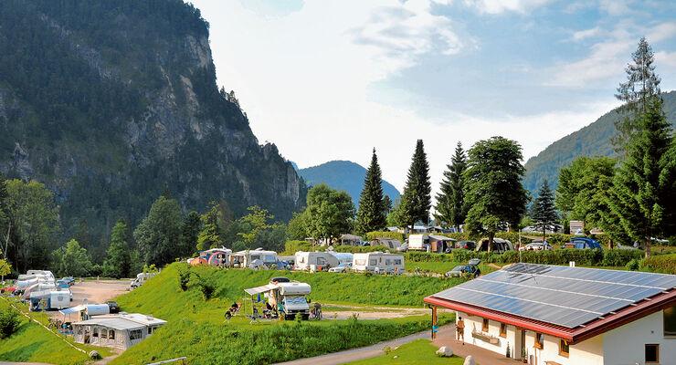campingplatz tipp camping allweglehen in berchtesgarden caravaning. Black Bedroom Furniture Sets. Home Design Ideas