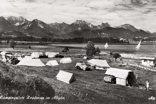 Campingplatz Hopfensee Allgäu