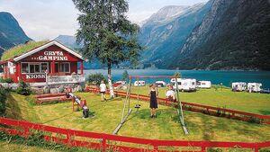 Campingplatz Norwegen