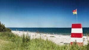 Dänemark Strand Aarhus