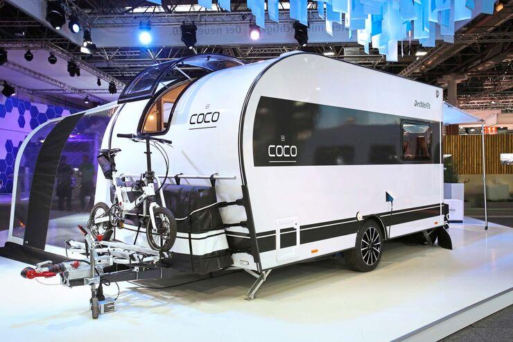 leichte wohnwagen unter 1200 kg auf der cmt 2018 caravaning. Black Bedroom Furniture Sets. Home Design Ideas