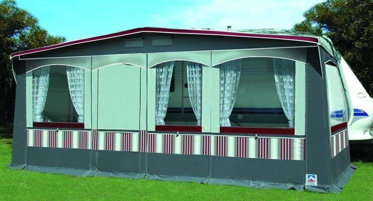 Der Zelthersteller Güsto hat in seinem Caravilla-Programm acht verschiedene Modellschnitte zur Auswahl