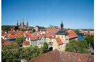 Die Altenburg, den Domberg und das Alte Rathaus.