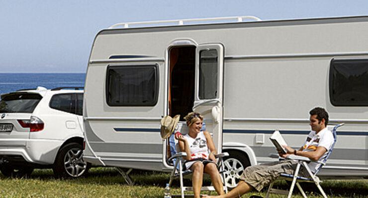 Die Caravaningindustrie verzeichnete auf dem deutschen Markt im ersten Halbjahr 2012 steigende Verkäufe.