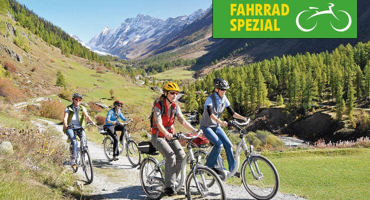 Fahrrad-Spezial: E-Bikes: Radreviere