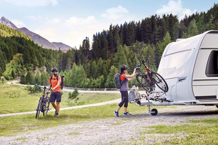 Fahrradtransport Caravan