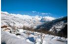 Fantastische Aussichten auf den Montblanc.