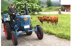 Fotos Lanz Bulldog Dethleffs Camper Alpenreise Wohnwagen Caravan