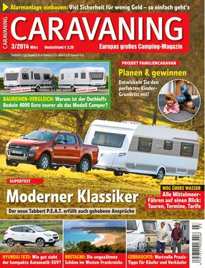 Heft Caravaning Ausgabe 01-2014