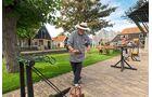 Hier werden Taue auf traditionelle Art hergestellt – Museum Kaap Skil in Oudeschild auf der Insel Texel.
