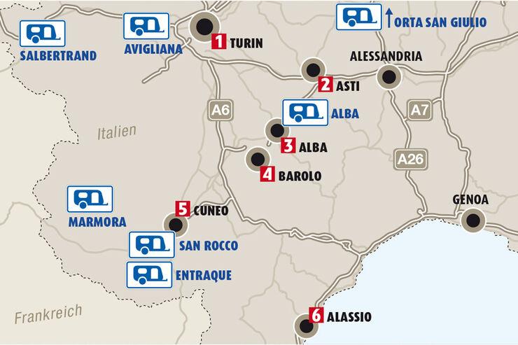 Piemont Weinbau Karte.Die Schönsten Orte Und Besten Genusstipps Im Piemont Seite 2