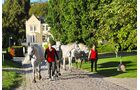 Nostalgische Gutshäuser stehen vor allem in der Mecklenburgischen Schweiz.