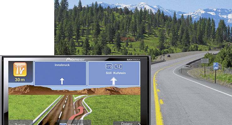 Pioneer Navigationsgerät