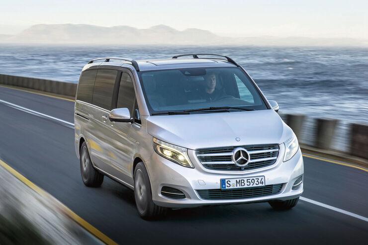 Premiere: Mercedes V-Klasse