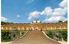 Sanssouci ließ Friedrich II. als Sommerschloss erbauen.